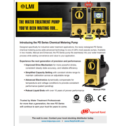Chemical metering pumps PD FLYER